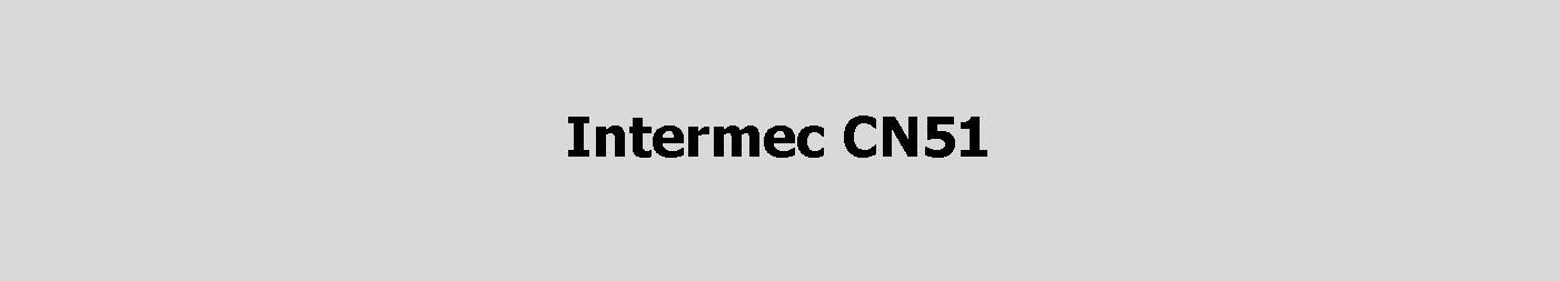 Intermec CN51 handheld computer, route accounting